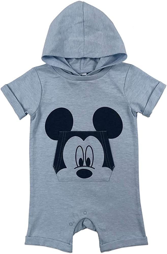 Disney Baby-Boys Mickey Romper Jumpsuits /& Rompers