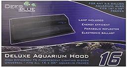 Deep Blue Professional ADB42016 8-watt Deluxe Aquarium Hood, 16-Inch