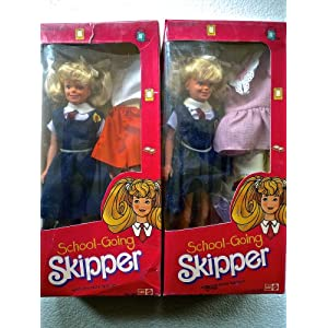 School-Going Skipper (Made Exclusively for Sale in India - early 1990's) - RARE