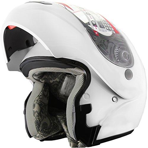 xl modular snowmobile helmet - 6