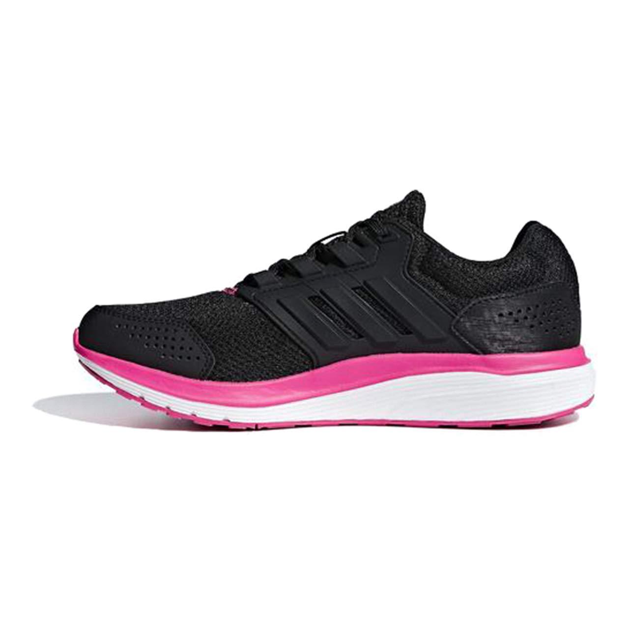 Adidas Galaxy 4 - Zapatillas de Entrenamiento Mujer 40 EU|Negro (Core Black/Core Black/Shock Pink)