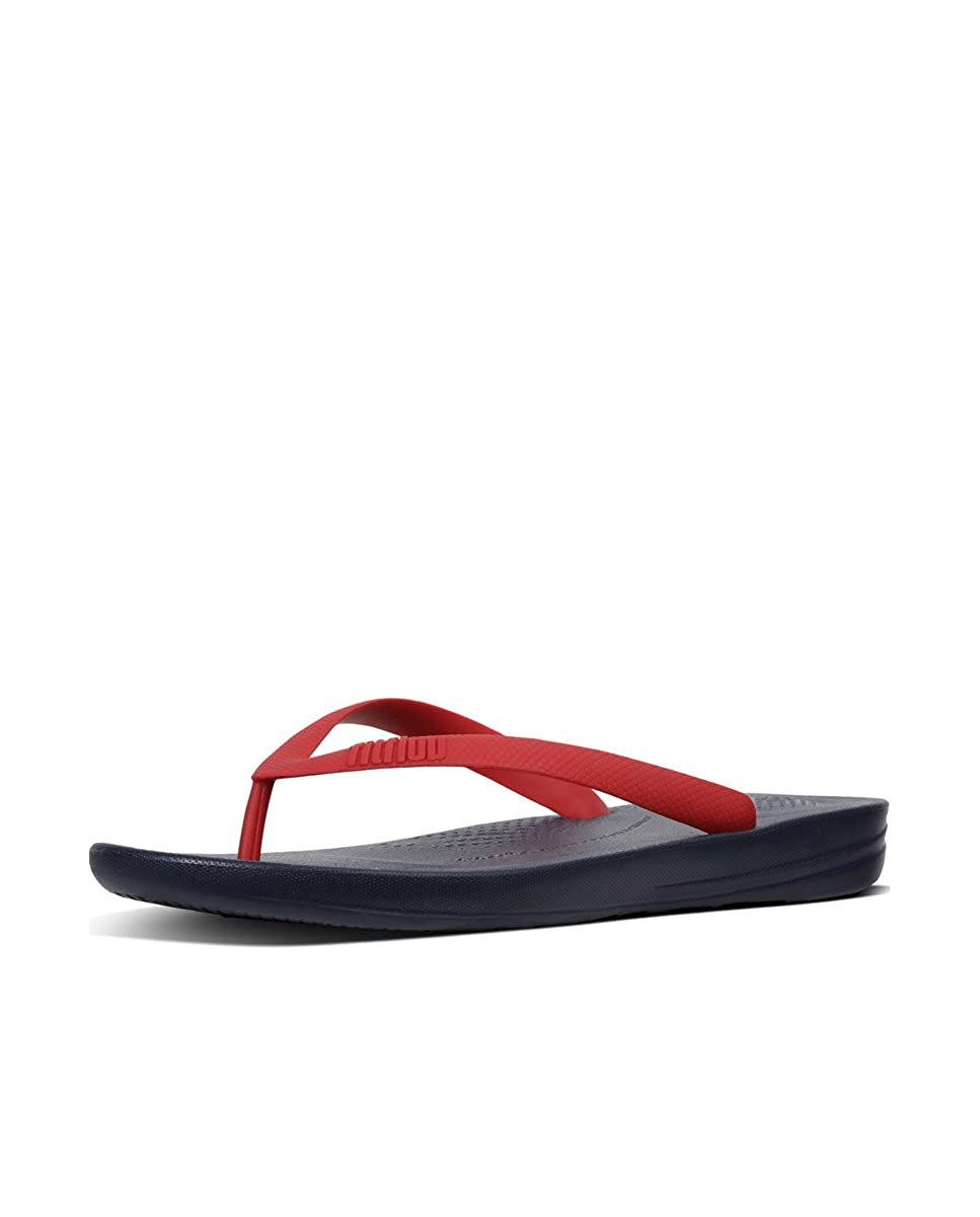 TALLA 46 EU. Fitflop Men's Iqushion TM Ergonomic Flip-Flops, Chanclas para Hombre