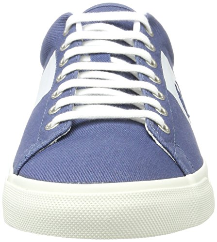 Fred Perry Heren Underspin Plastisol Twill Sneaker Midnight Blue