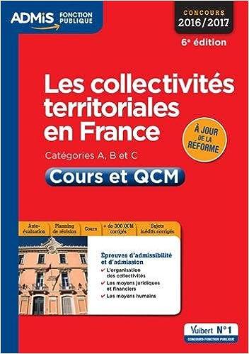 2c7eb89de16 Amazon.fr - Les collectivités territoriales en France - Catégories A ...