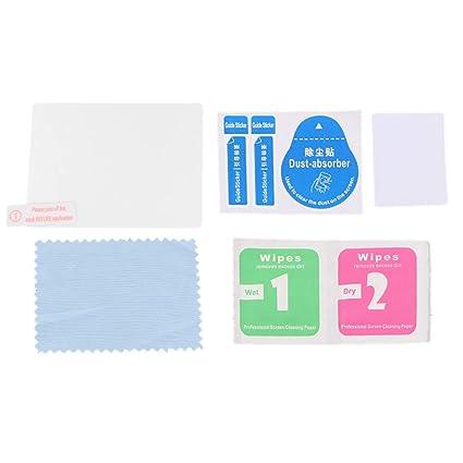perfk Protector de Pantalla Paño de Limpieza con Polvo Absorbedor para Pentax K1 A Prueba de