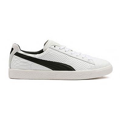8c7cc5f8813e Puma - Clyde MII- Sneakers Men Blanc - 45 EU: Amazon.fr: Chaussures .