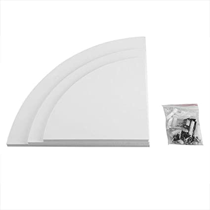 Amazon.com: Lucidz Home Decor Wall Shelves Ideas Set of 3 ... on kitchen flooring paper, kitchen design paper, kitchen countertops paper, kitchen cabinets paper, kitchen table paper, kitchen wall shelves,