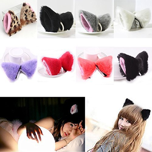 Chunlin-Orecchiette-Anime-Neko-Cosplay-Halloween-Party-Cat-Fox-Ears-Long-Fur-Ears