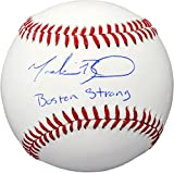 Mookie Betts Boston Red Sox Autographed Baseball with Boston Strong Inscription - Fanatics Authentic Certified