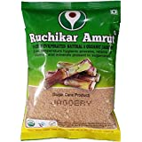 Ruchikar Amrut Natural and Certified Organic Powder Jaggery 500 gms
