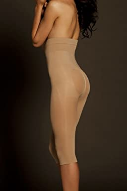 Davids Bridal Body Wrap Seamless Catwalk High Waist Capri Style 44851