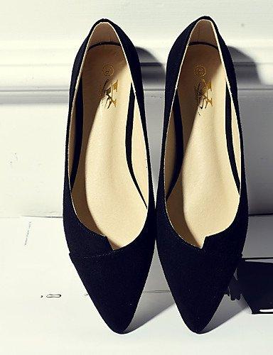 vestido ante Toe Punta eu36 gray de PDX uk4 Mocasín casual talón de negro Toe mujer cerrado us6 plano tipo gris Flats cn36 zapatos p6zz7qwI