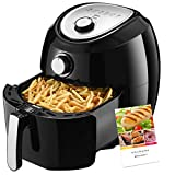 Air Fryer, Habor Turkey Fryer 5.8QT Healthy - 1500W Oilless Quick Multi Cooker