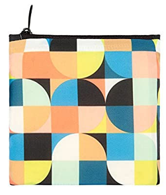 LOQI Echo Circles Reusable Shopping Bag, Multicolor