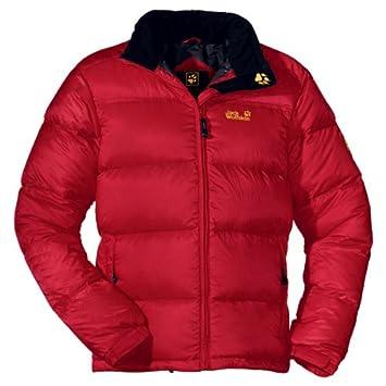 Jack Wolfskin Chogori Jacket Men, tango red, XL: