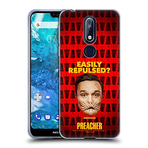 Official Preacher A Face Season 3 Character Art Soft Gel Case for Nokia 7.1