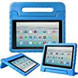 eTopxizu Tablet Case for All-New Amazon Fire HD 10 2017 - Light Weight Shock Proof Convertible Handle Kid-Proof Cover Kids Case for All-New Fire HD 10(7th Generation, 2017 Release), Blue