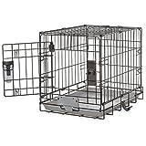 You & Me 1-Door Training Crate 30″, Medium, Black Review