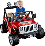 Power Wheels Jeep Wrangler, Red