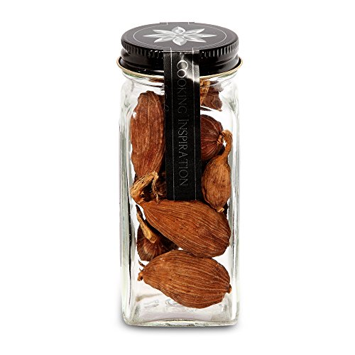 The Spice Lab No. 125 - Red Cardamom (Cao Guo) - Kosher Gluten-Free Non-GMO All Natural Spice - French Jar