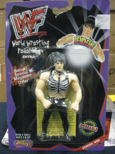 (WWF Bend-Ems Series VIII Chyna by JusToys 1998)