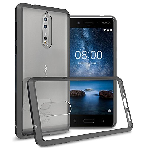 Nokia 8 Case, CoverON ClearGuard Series Hard Slim...