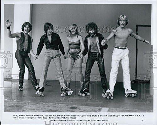 1978 prensa fotos Patrick Swayze, Scott Baio, Ron palillo en ...