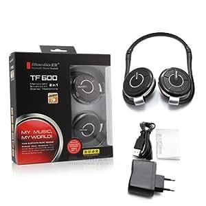 Bluedio TF600 Bluetooth Stereo Headset - Black/red