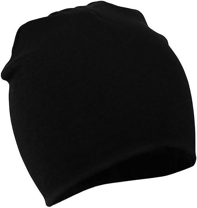 Zando Baby Toddler Infant Kids Cotton Soft Cute Lovely Knitted Beanies Hat  Cap D Black Small 1eba325f3e7