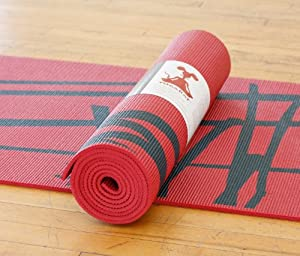 "RatMat Yoga Mat: Eco-friendly, 24"" x 68"" x 1/4"""