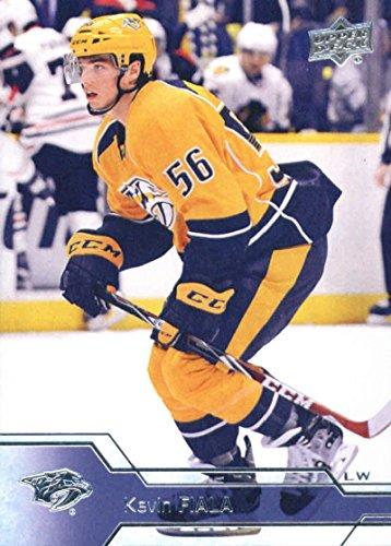 2016-17 Upper Deck Series 2 Hockey #354 Kevin Fiala Predators (2016 17 Upper Deck Series 2 Hockey)