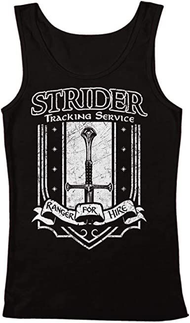 Lord of The Rings Mens Hero Group Tank Top