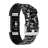 RedTaro Compatible with Wristbands Fitbit Charge 2, Replacement Accessory Wristbands, Small Fairy