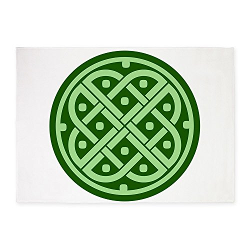5' x 7' Area Rug Celtic Knot Interlinking by Royal Lion