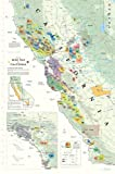 img - for Wine Map of California book / textbook / text book