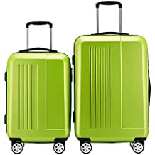 Fochier Luggage 2 Piece Set Lightweight Spinner Suitcase