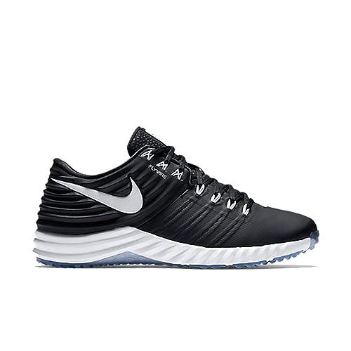 sale retailer a5e70 1650a ... reduced nike lunar trout 2 turf baseball shoe black white size 11.5 m  us f4f0e c9687