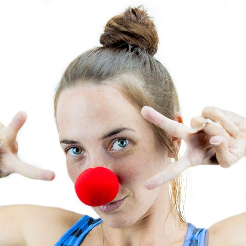 Novelty Red Foam Clown Nose By Pudgy Pedro's Party Supplies