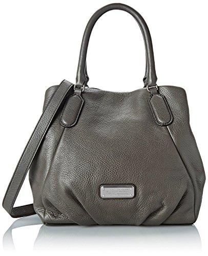 Marc by Marc Jacobs New Q Fran Shoulder Bag (Faded Aluminum)