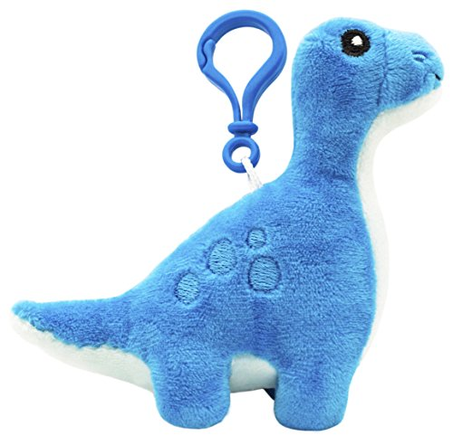 Scentco Dino Dudes Backpack Buddies - Scented Plush Toy Dinosaur Clips - Brontosaurus ()