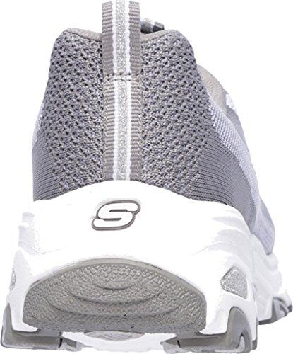 Sportschuhe Damen Skechers D´Lite Grau REINVENTIO Bright HOFY5wqSA
