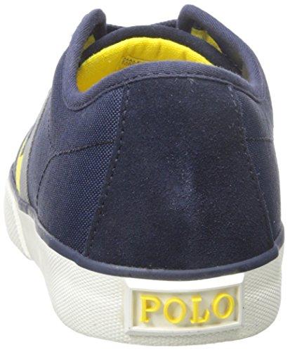 Polo Ralph Lauren Mens Halford Fashion Sneaker Newport Navy