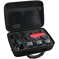 EVA Hard Travel Case for DJI Spark Intelligent Portable Mini Drone-Fits 3 Extra Batteries, Controller and Charger by Hermitshell