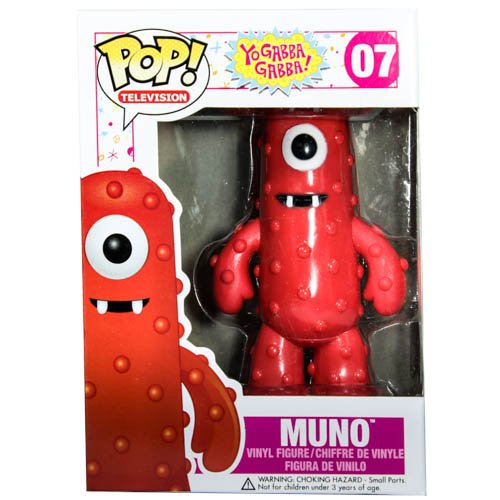 Funko POP Television: Muno Vinyl Figure - Yo Gabba Gabba Vinyl Shopping Results