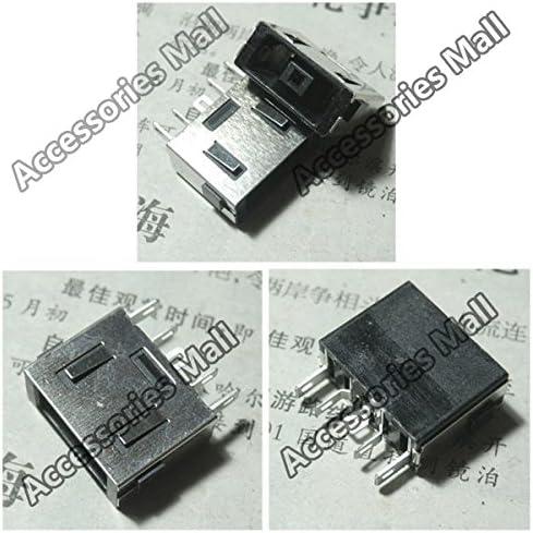 ShineBear 2pcs-50pcs New DC Power Jack for Lenovo B40 B50 E40 G40 G50 Z40 Z41 Z50 Z51 Y50 N50 Z510 Z710 T440 DC Jack Connector Cable Length: 50 pcs