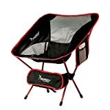 Best Travel Chairs - SYOURSELF Portable Folding Camping Chair-Lightweight,Compact,Comfortable, Breathable Beach Travel Review