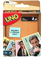 UNO The Office Card Game with 112 Cards & Instructions, Gift for Kid, Adult or Family Game Night, Ages 7 Years & Older