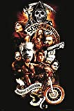 Sons of Anarchy Collage Poster Art Print