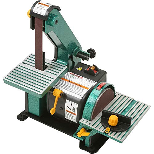 "Grizzly Industrial H6070-1"" x 30"" Belt/5"" Disc Combo Sander"