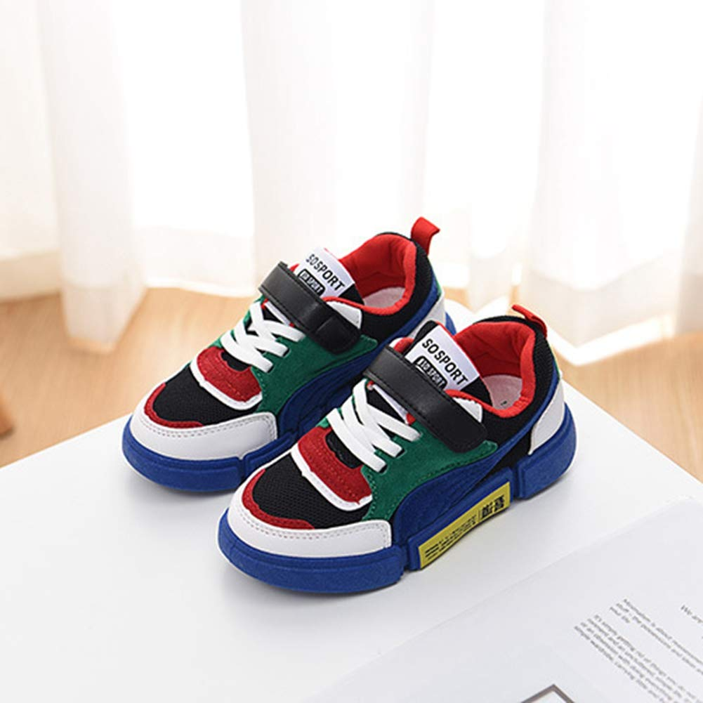 Men's/Women's T-JULY Boy's Girl's Sneakers Running Shoes Strap Lightweight Kid) Breathable Slip Resistant Sports(Toddler/Little Kid/Big Kid) Lightweight New product Trendy Official website BB23687 a86d27
